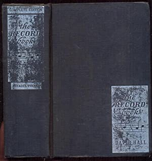 The Record Book. A Music Lover's Guide: Hall, David