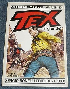 Piombo rovente. Tex il grande! Albo speciale: Nizzi, Claudio -