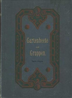 Gartenbeete und Gruppen. 333 Entwürfe für einfache: Hampel, Carl