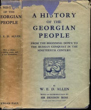 A History of the Georgian People from: Allen, W. E.