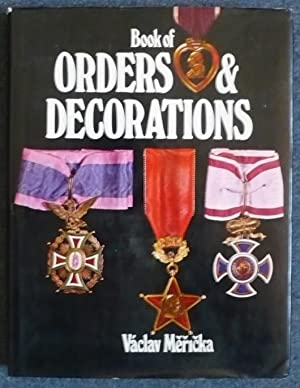 The Book of Orders and Decorations: Mericka, Vaclav -