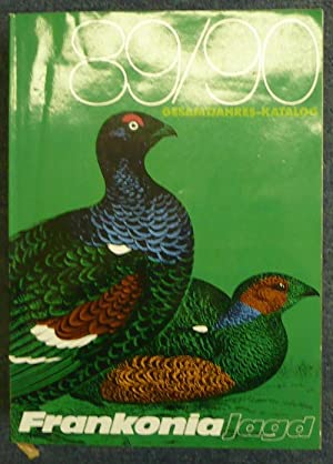 Frankonia Jagd. Gesamtjahres-Katalog 89/90