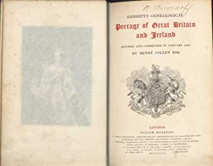 Debrett's Genealogical Peerage of Great Britain and Ireland. Revised and corrected to January 1849