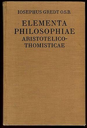 Elementa Philosophiae Aristotelico-thomisticae. Volumen I. Logica, Philosophia: Gredt, Iosephus O.S.B.