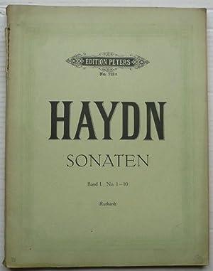 Sonaten von Joseph Haydn. Neu revidierte Ausgabe.: Köhler, Louis -