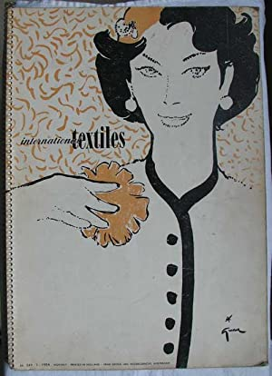 International Textiles. Foremost World-Wide Textile Publication. N° 249 - 1 - 1954