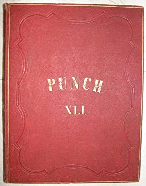 Punch, or the London Charivari, vol. XLI, 1861. 52 gebundene Hefte in Verlagseinband