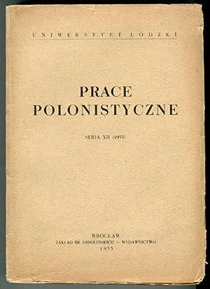 Prace polonistyczne. Seria XII