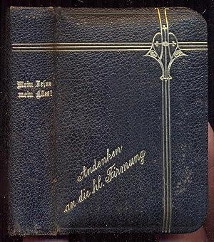 Mein Jesus, mein Alles. Gebet- und Andachtsbuch: Nakatenus, Wilh.