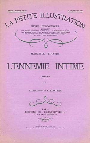 La petite illustration. N° 510, Roman: N°: Tinayre, Marcelle