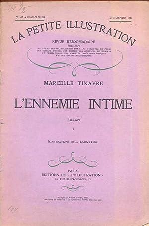La petite illustration. N° 509, Roman: N°: Tinayre, Marcelle