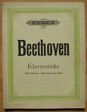 Beethoven Klavierstücken. Edition Peters N° 297: Louis, Köhler -