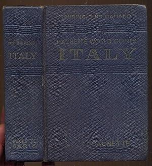 Italy. Touring Club Italiano. Hachette World Guides