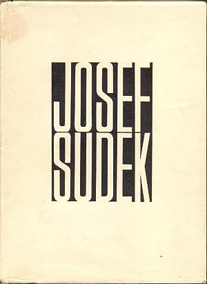 Josef Sudek: Fotografie. S uvodni studii Lubomira: Sudek, Josef -