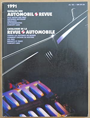 Katalog der Automobil Revue. Alle Autos der Welt, Ratgeber Autokauf, Preisliste, Betriebskosten, ...