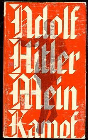 Mein Kampf. Translated by Ralph Manheim: Hitler, Adolf