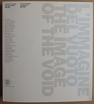 L'immagine del vuoto. Una linea di recerca: Ruggiero, Francesca (ed.)