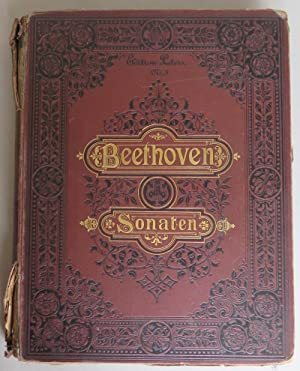 Sonaten für Pianoforte solo von L. van Beethoven [=Edition Peters, Nr. 3]