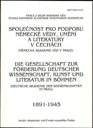 Spolecnost pro podporu nemecke vedy, umeni a: Miskova, Alena -