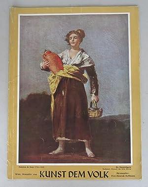 Kunst dem Volk. Monatsschrift für bildende und: Hoffmann, Heinrich (ed.)