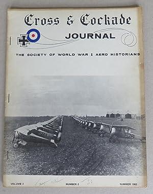 Cross & Cockade. Journal of The Society: Tegler, John H.