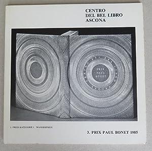 3. Prix Paul Bonet 1985, Ascona: Erni, Hans -
