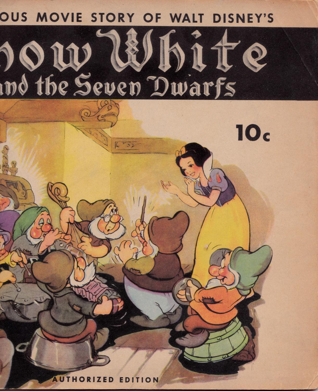The Famous Movie Story of Walt Disney's SNOW