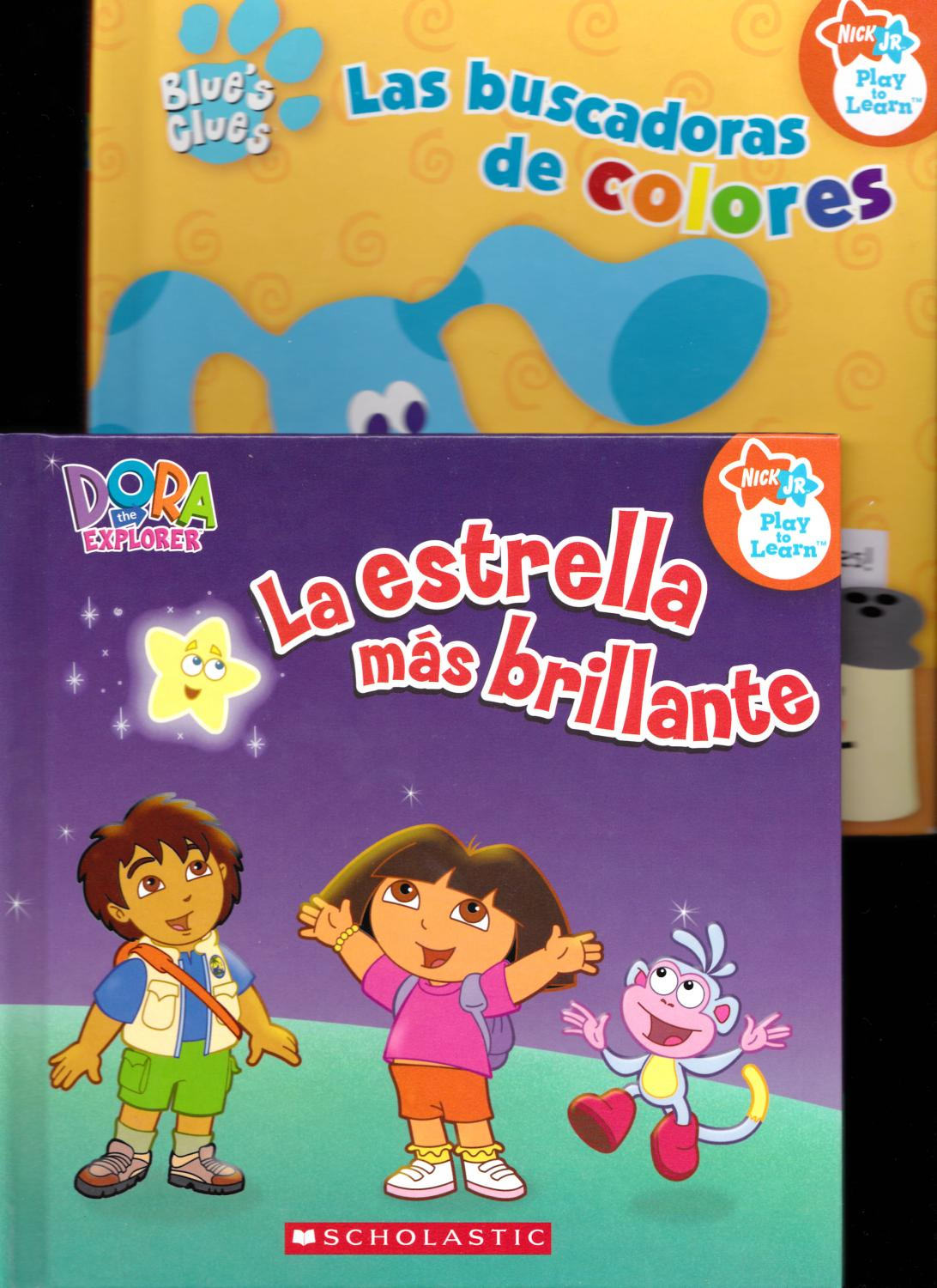 Nick Jr. 7 books - La estrella mas brillante (Dora the Explorer), El ...