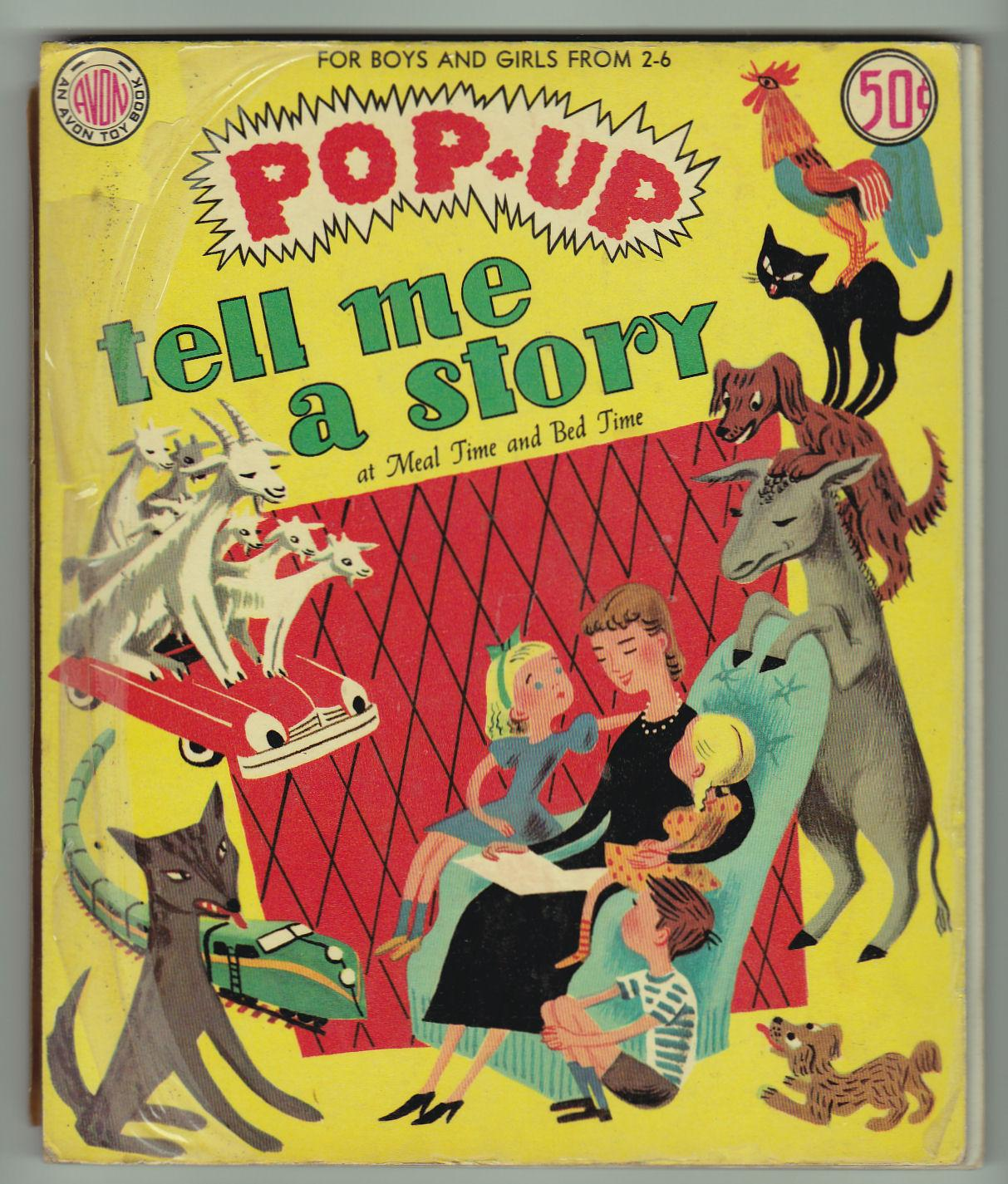 2) Pop-Up Books For Boys And Girls From 2