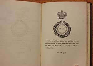 The Coronation Gem: or, a Panoramic View of the Pedigree of Her Most Gracious Majesty Queen ...