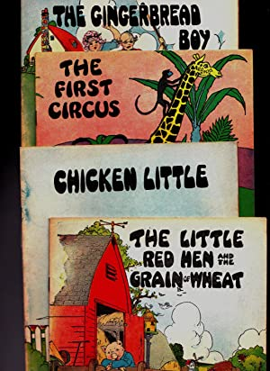 Series 3100) Chicken Little; The First Circus; The Gingerbread Boy; The Little Red Hen & the ...