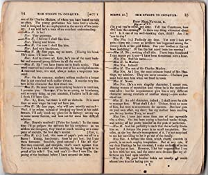 Cumberland's British Theatre. She Stoops to Conquer. Printed from the Acting Copy with Remarks...