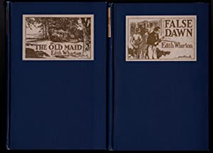OLD NEW YORK: New Year's Day,The Spark, False Dawn, The Old Maid (4 volumes): Edith Wharton