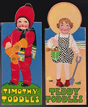The Toddles Boys - all 4 - in original box: Unknown