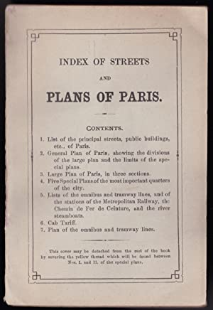 Index of Streets and Plans of Paris