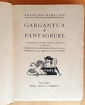 Gargantua & Pantagruel: Francois Rabelais