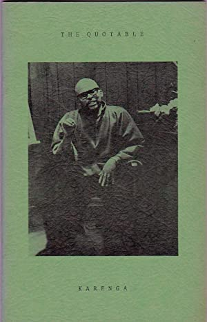 The Quotable Karenga: Cllyde Halisi, James