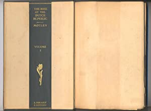 "The Works of John Lothrop Motley - Library Edition - SALESMAN'S ""DUMMY"": John ..."