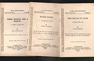 War Department, Service Edition, Numbers 1 through 18- One Act Plays and such (Sold as a set): ...