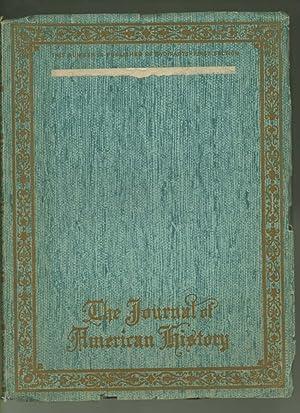 The Journal of American History - Vol VI, No. 1, 1st Quarter, 1st Section 1912; Vol VI, 1st Quarter...
