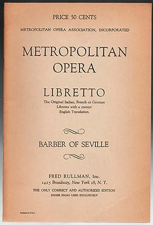 Metropolitan Opera Libretti - 23 issues: Various