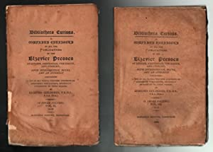 Bibliotheca Curiosa (6 Assorted Titles): Some Political Satires of the 17th Century, Vol I (1885); ...