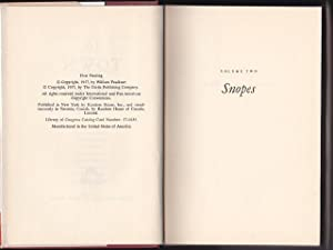 The Town, A Novel of the Snopes Family - Volume II: William Faulkner