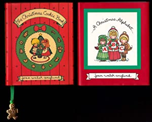The Christmas Cookie Book AND A Christmas Alphabet: Joan Walsh Anglund