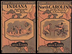 Cobb's America Guyed Books - 6 volumes - Indiana, New York, Maine, North Carolina, Kansas, Kentucky