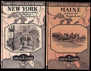 Cobb's America Guyed Books - 6 volumes - Indiana, New York, Maine, North Carolina, Kansas, ...