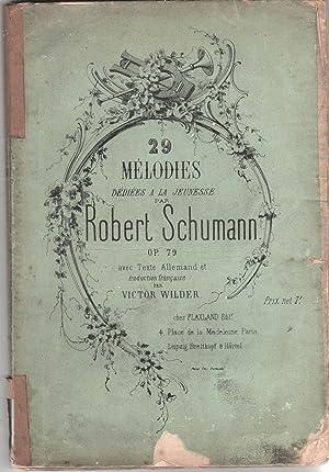 29 Melodies Dediees a La Jeunesse Robert: Wilder, Victor (