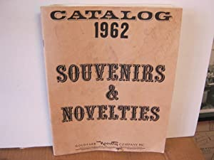 Catalog 1962 Souvenirs & Novelties Goldfarb Novelty Company