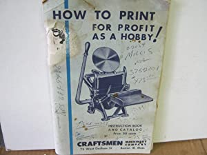 How to Print for Profit as a