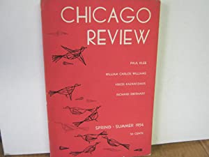 Chicago Review Spring Summer 1954 Volume 8 Number 2